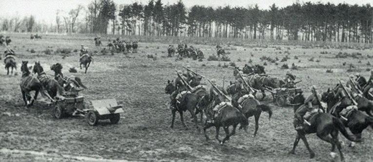 Польская кавалерия во время Боя под Кроянтами
