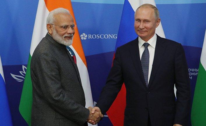 Рабочая поездка президента РФ В. Путина в ДФО