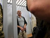 Владимир Цемах в зале суда в Киеве