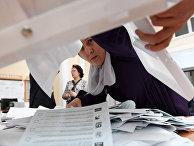 Подсчет голосов на выборах в единый день голосования