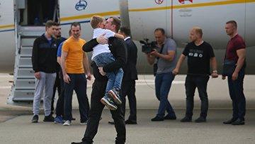 Участники договоренности об освобождении между Россией и Украиной прилетели в Борисполь