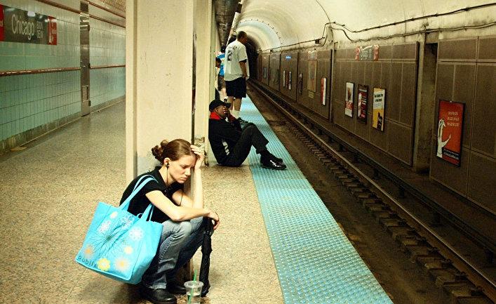 Ожидание поезда