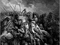 Битва при Арсуфе, Ричард Львиное Сердце. Густав Доре