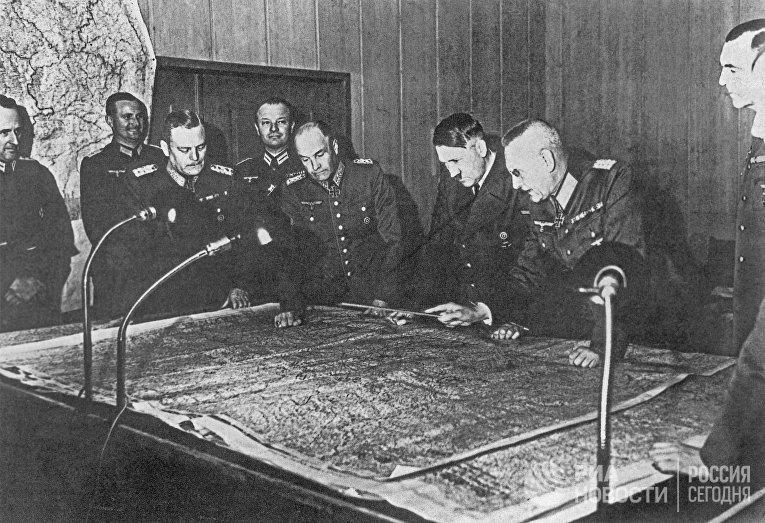 Совещание генерального штаба в 1940 году