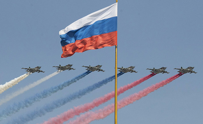 Истребители Су-25 ВВС России