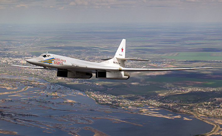 Сверхзвуковой самолёт Ту-160