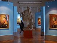 Выставка в музее Академии художеств