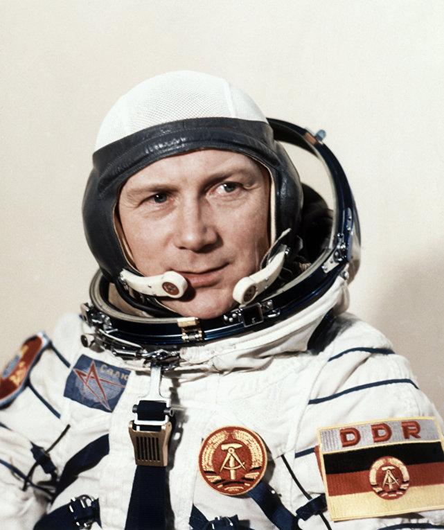 Немецкий космонавт Зигмунд Йен