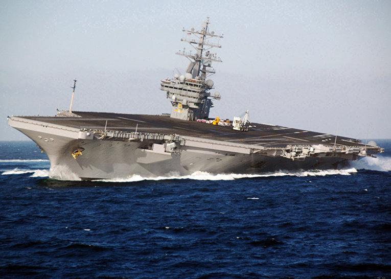 Американский авианосец «Рональд Рейган» (USS Ronald Reagan)