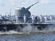 Репетиция парада в честь Дня ВМФ России