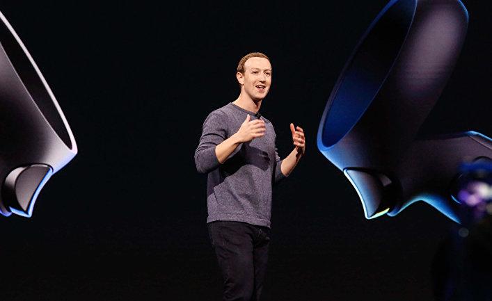 Глава Facebook Марк Цукерберг