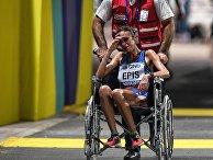 Джованна Эпис (Италия), сошедшая с дистанции во время марафона