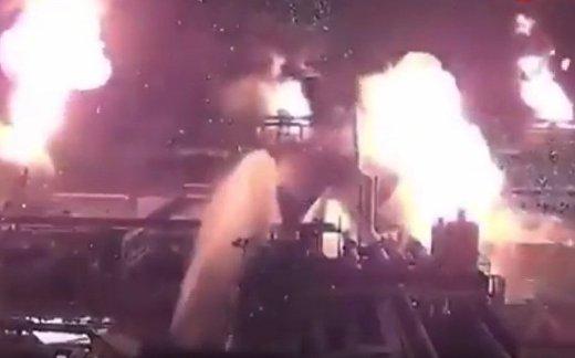 Момент удара по Saudi Aramco