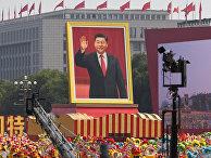 Парад в честь 70-летия основания Китайской Народной Республики в Пекине