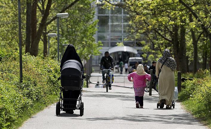 Женщины-мусульманки в Орхусе, Дания