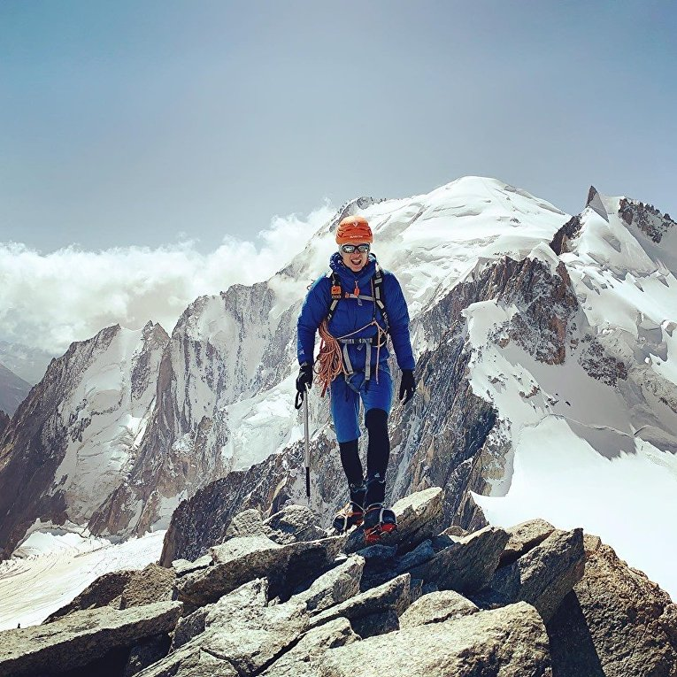 Альпинист Йост Кобуш