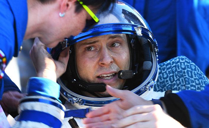 Член основного экипажа 59/60-й длительной экспедиции на Международную космическую станцию (МКС) астронавт NASA Ник Хейг