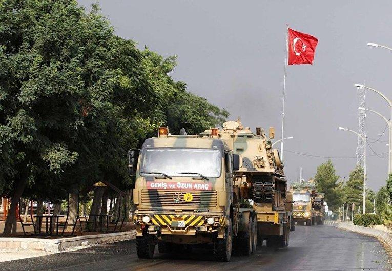 Колона турецкой армии