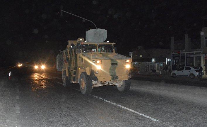Ситуация на границе Турции и Сирии