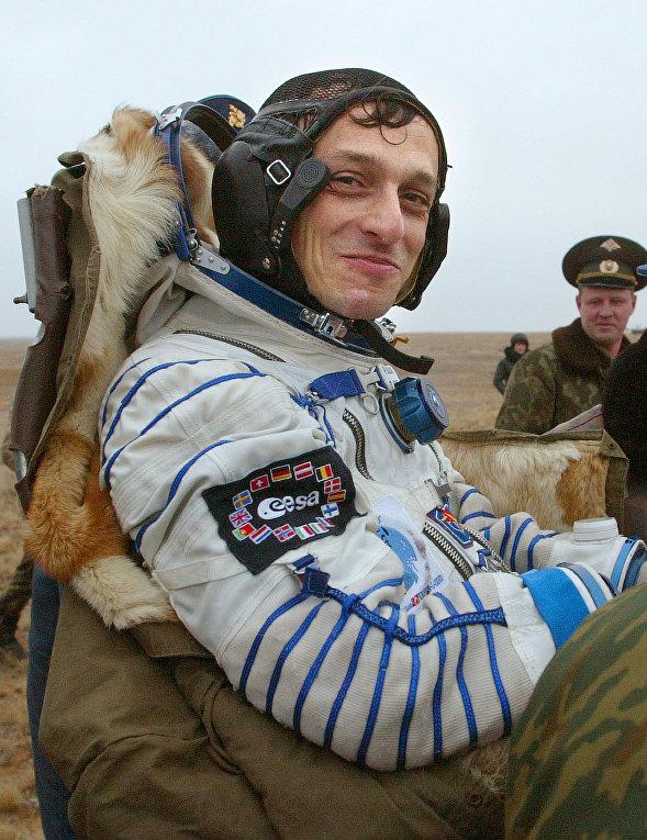 Испанский космонавт Педро Дуке