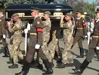 Похороны убитой на Донбассе Ярославы Никоненко