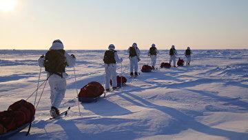 Комплексная экспедиция к Северному полюсу, организованная Экспедиционным центром Минобороны РФ, завершилась в Арктике