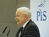 Лидер партии PiS Ярослав Качиньский