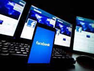 Социальная сеть Facebook на экранах