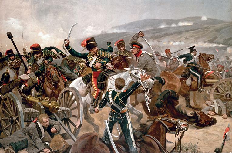 Ричард Кейтон Вудвиль. «Балаклавское сражение». 1897