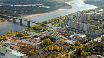 Новый мост через реку Вятку в г. Кирове.