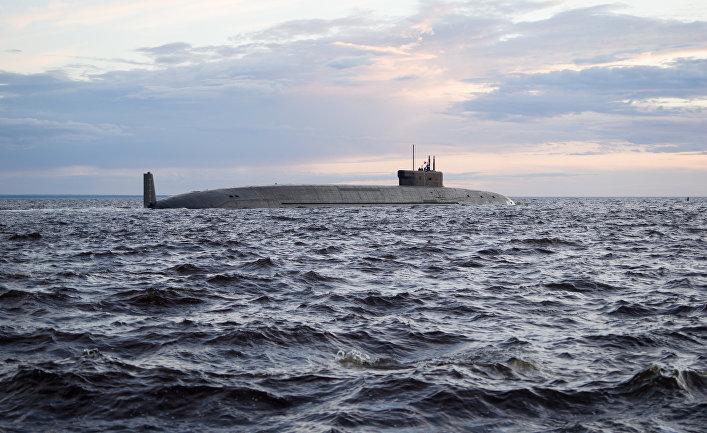 """Подводный крейсер """"Князь Владимир"""" возобновил заводские ходовые испытания"""