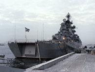 """Ракетный крейсер """"Адмирал Нахимов"""""""