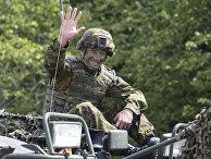 Учения НАТО Saber Strike 2016 в Эстонии