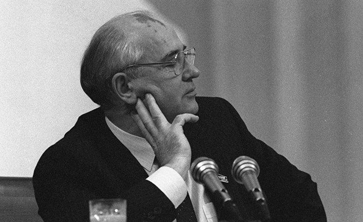 Президент СССР Михаил Сергеевич Горбачев