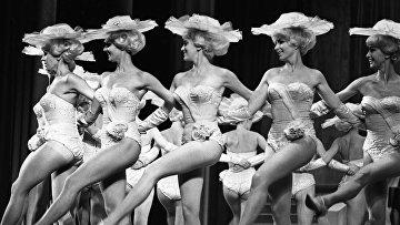 Эстрадное ревю Германской Демократической Республики на гастролях в СССР. Выступление балетной труппы в Москве