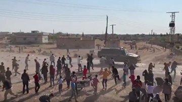 Российско-турецкий патруль, Кобани, Сирия