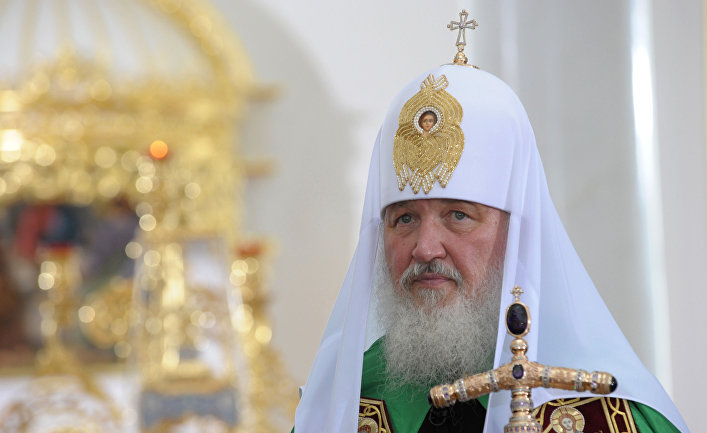 Визит патриарха Кирилла в Одессу