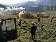 Киргизия. Ошская область.