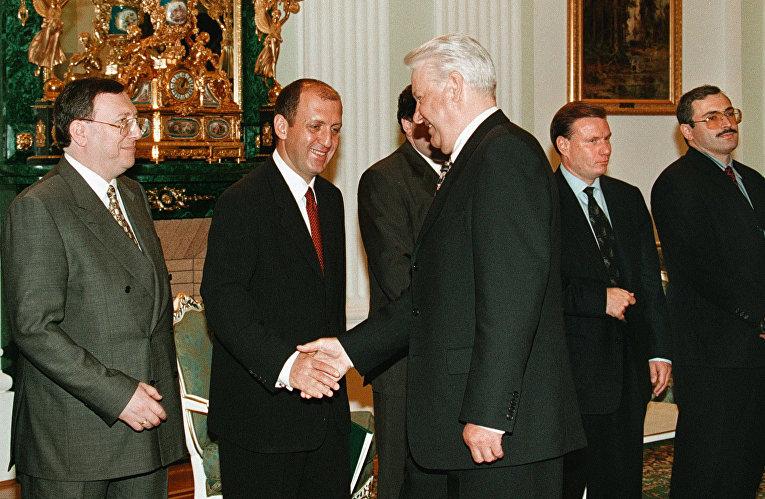 Бывший президент России Борис Ельцин