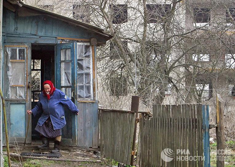 В белорусском поселке Стреличево