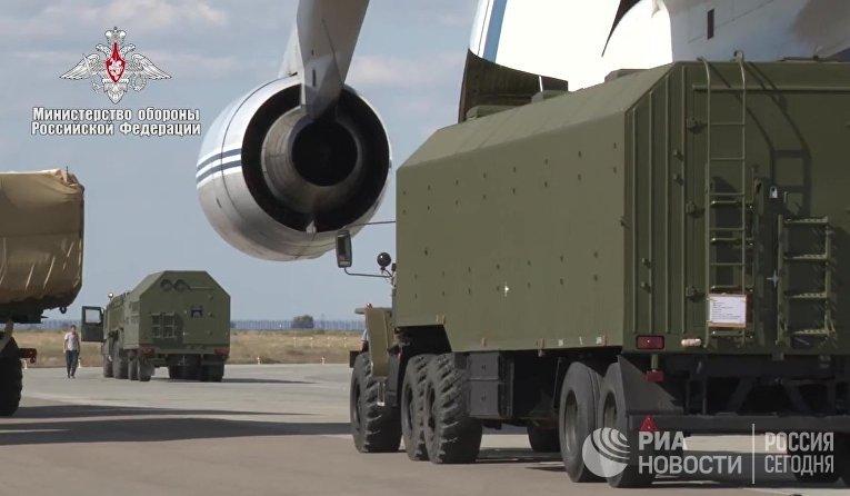 Доставка компонентов ЗРС С-400 в Турцию
