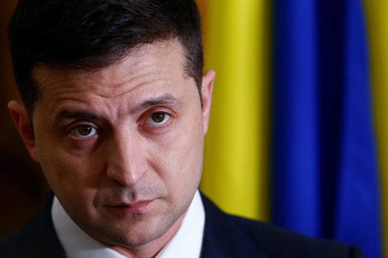 Президент Украины Владимир Зеленский принял участие в пресс-конференции в Таллинне