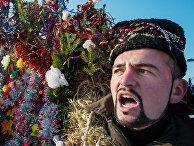 Празднование украинского народного праздника Маланки