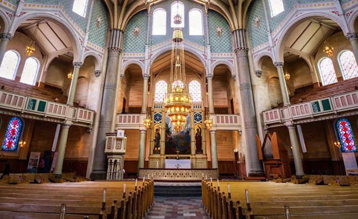 Церковь Святого Павла в Мальмё, Швеция