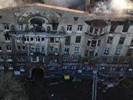 Пожар в Одессе: страх и ужас