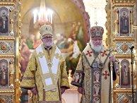 Литургия по случаю присоединения Архиепископии западноевропейских приходов русской традиции к РПЦ