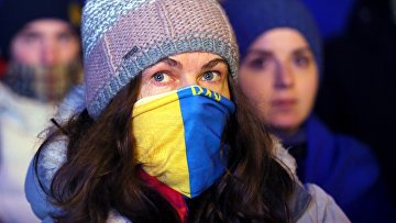 Акция протеста оппозиции в Киеве