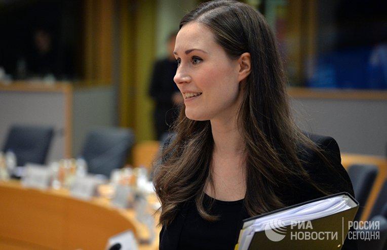 Премьер-министр Финляндии Санна Марин