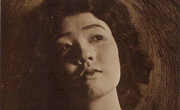 Японская актриса Сумако Мацуи