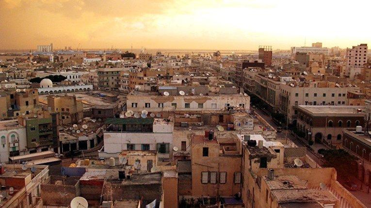 Панорама Триполи, Ливия
